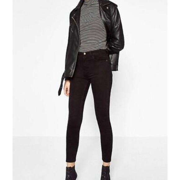 ZARA Trafaluc Denimwear Black Skinny Jeans